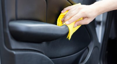 clean your car leather