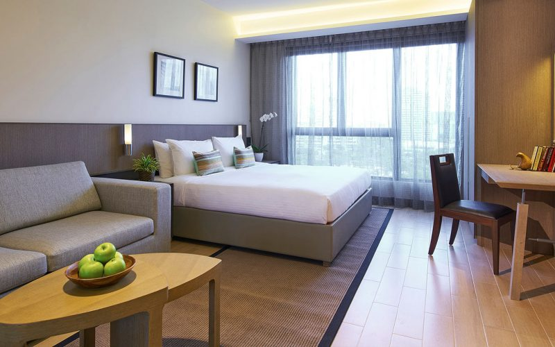 serviced apartments in Singapore for a week